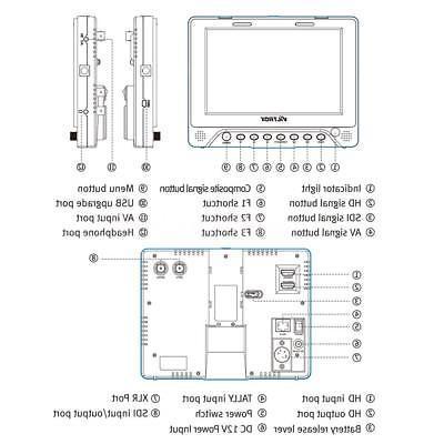Viltrox HD DSLR LCD Video Screen