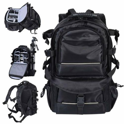 Deluxe Bag Case Canon Nikon DSLR SLR BLACK H