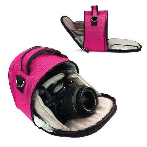 designed magenta pink dslr slr
