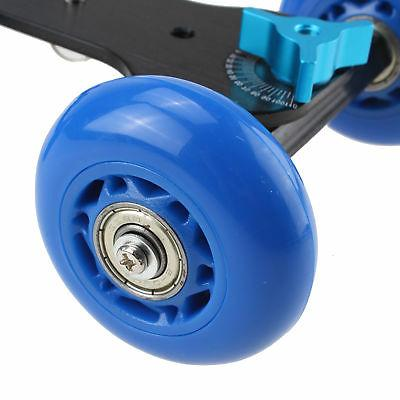 Desktop DSLR Camera Photograph Rolling Slider Car