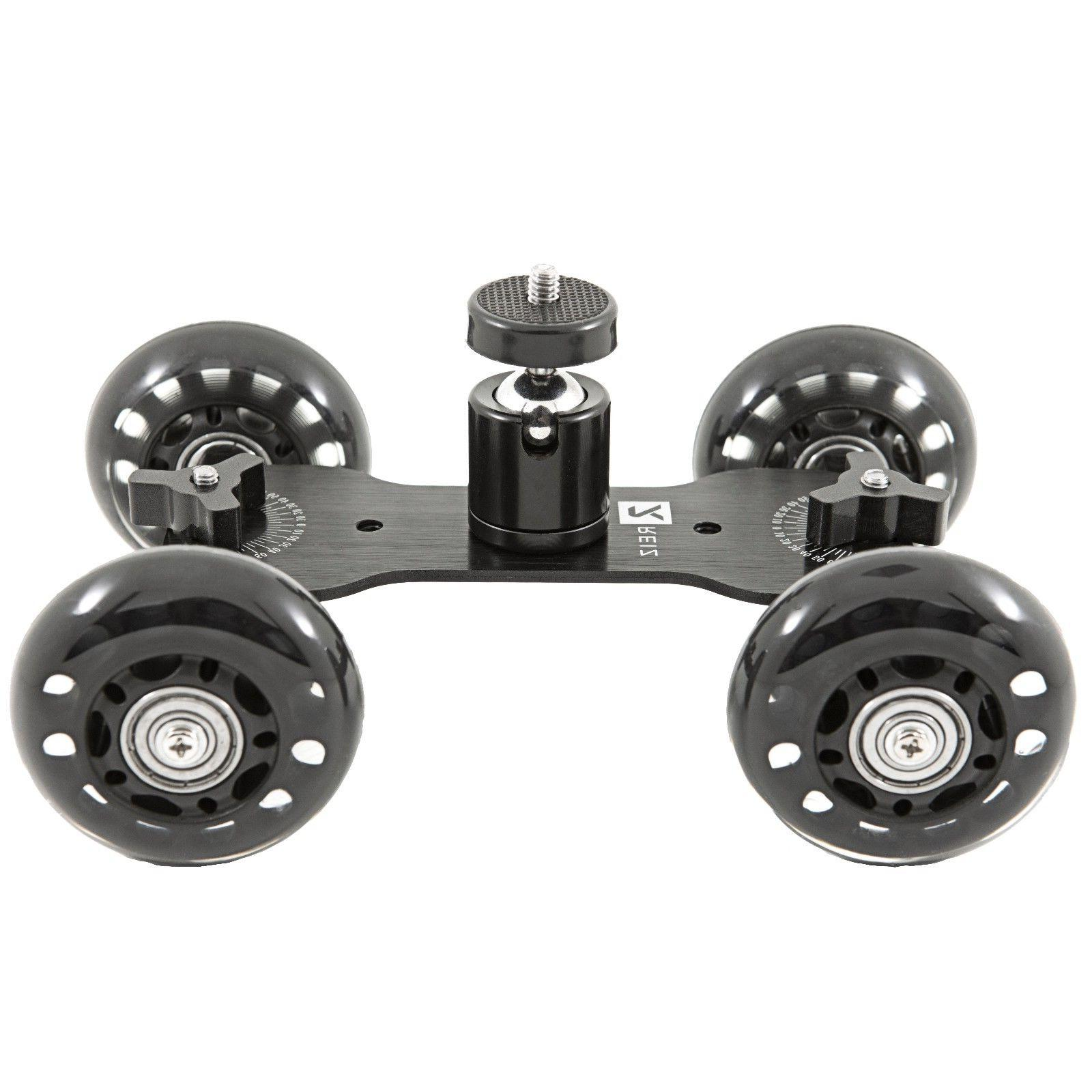 Desktop Camera Video Wheels Slider Dolly Glide