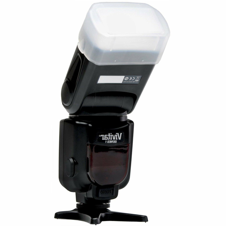 Vivitar DF-252 TTL Flash D5300 D5200 Camera