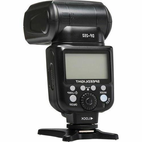 Vivitar DSLR TTL Flash for Nikon Camera