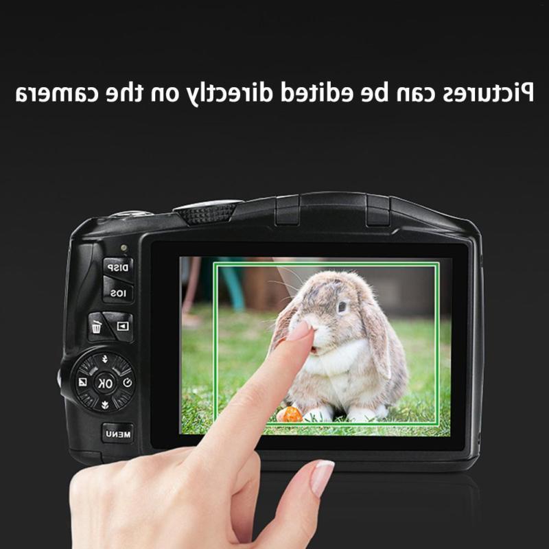 """Digital Camera 3.5"""" Screen 24 Megapixel 20x SLR"""