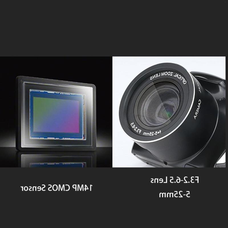 "Digital Camera 3.5"" LCD Screen 24 20x SLR Camera"