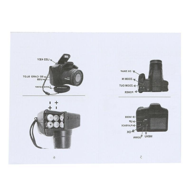 Digital SLR Camera Inch TFT LCD 1080P US