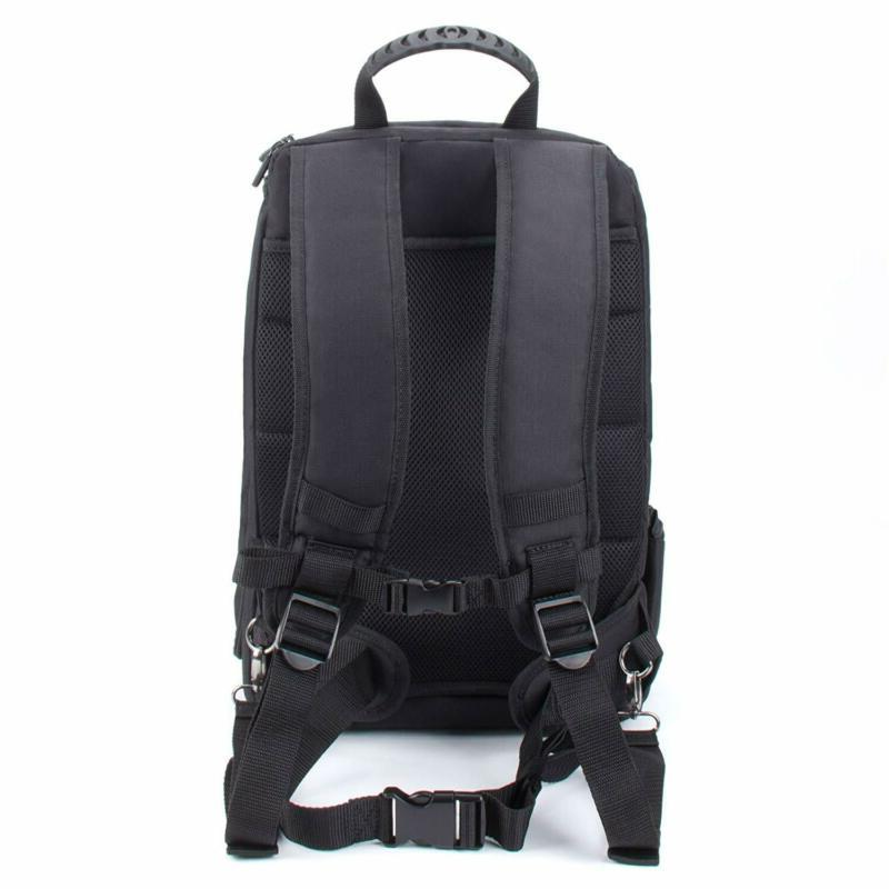 """USA GEAR Digital Camera Backpack Case w/15.6"""" Laptop Compartment"""