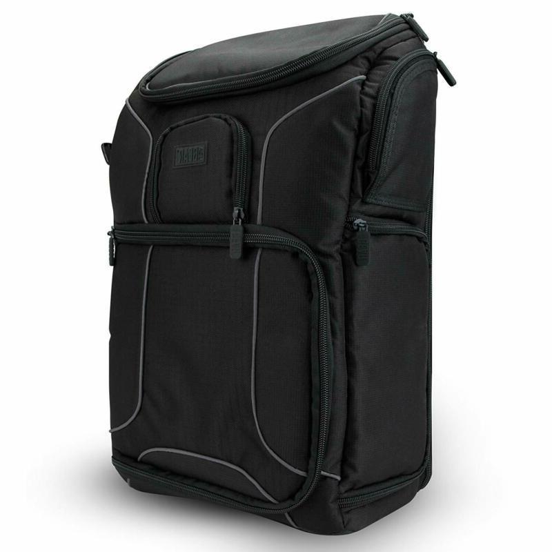 "USA GEAR Camera Case w/15.6"" Laptop"