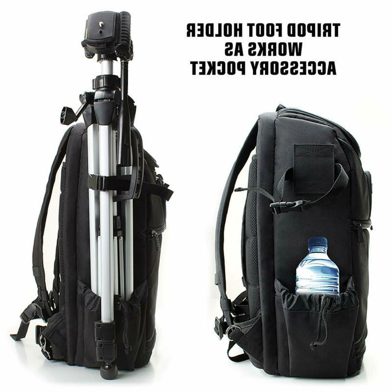 USA Camera Backpack Case Laptop
