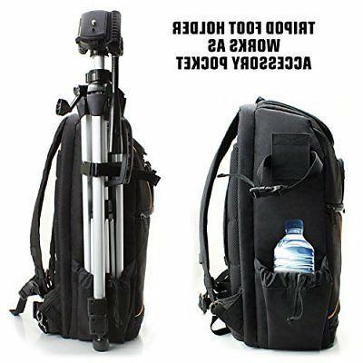 USA GEAR Digital SLR Camera Laptop