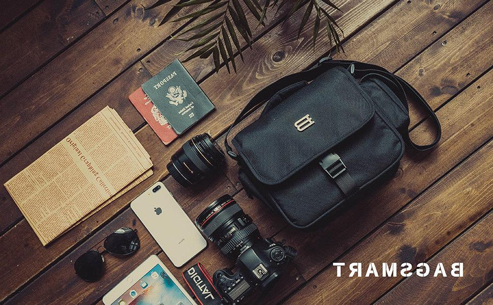 BAGSMART Camera Shoulder Travel SLR Gadget Bag