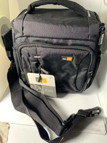 dobby nylon dslr shoulder bag black tbc