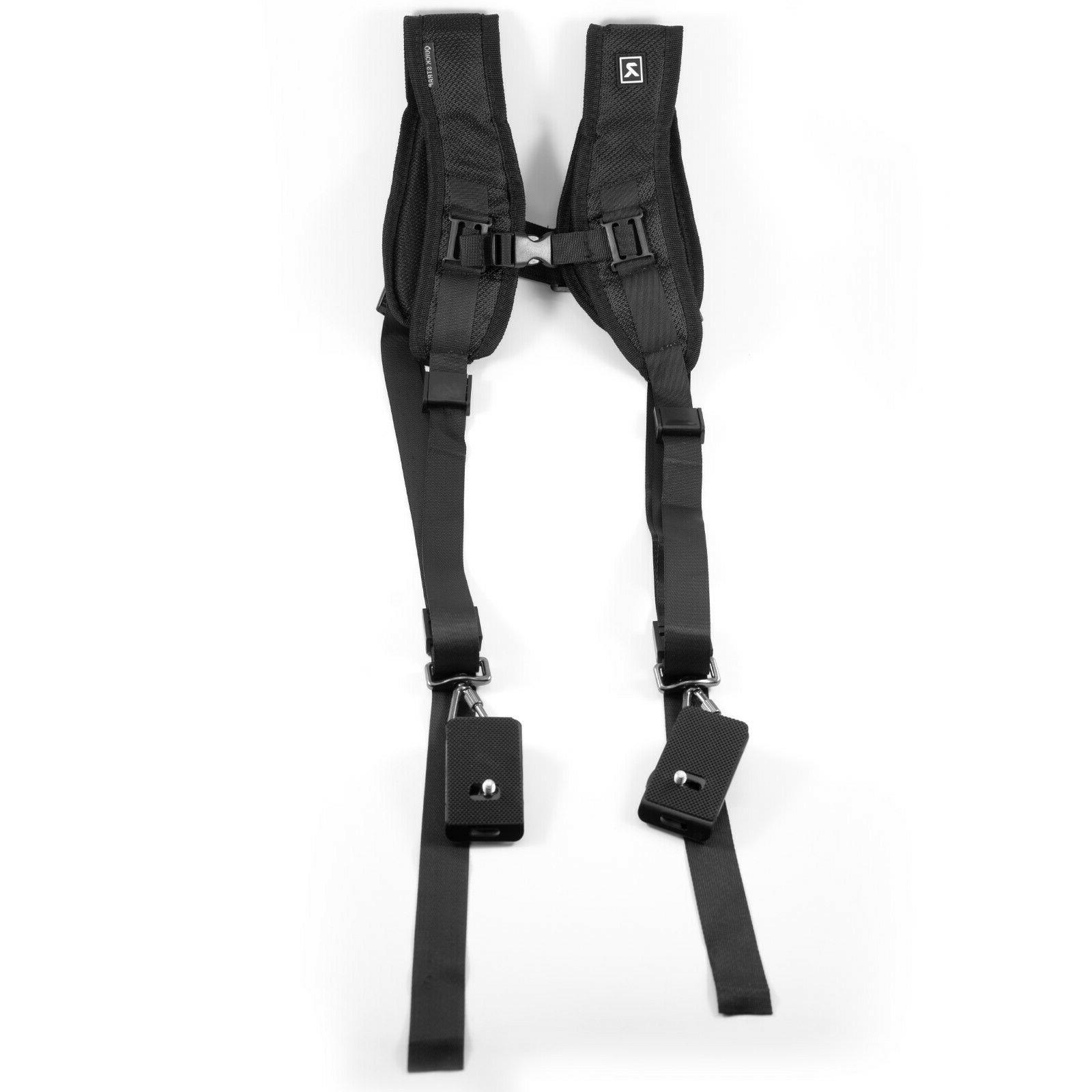 DOUBLE DUAL SHOULDER RELEASE STRAP 2 MIRRORLESS