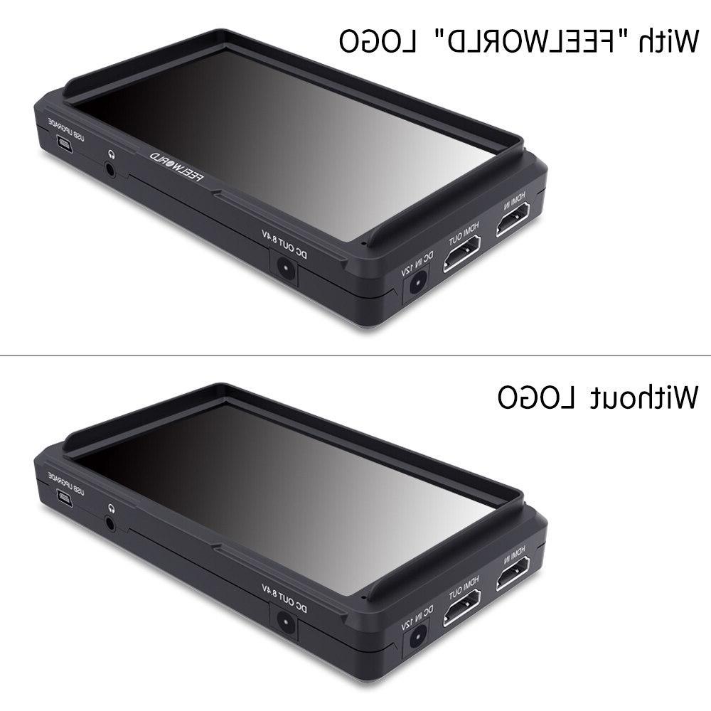 Dropshipping Hot Sales FEELWORLD <font><b>Camera</b></font> IPS HD 1920x1080 Logo