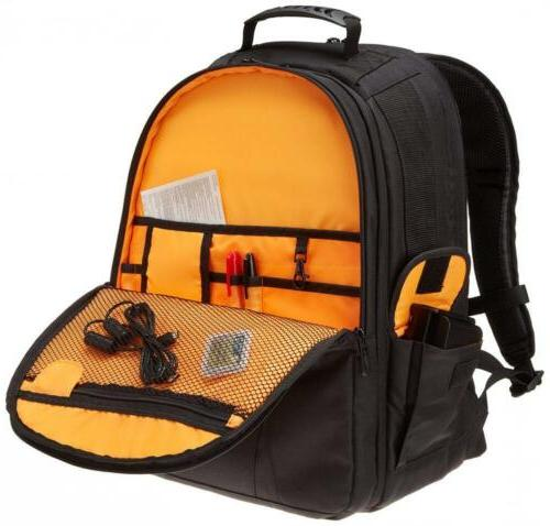 AmazonBasics DSLR and Laptop Backpack -