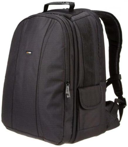 dslr and laptop backpack orange interior