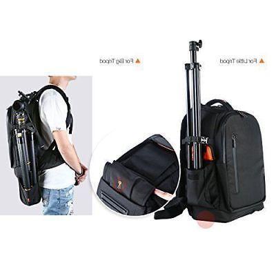 K&F Concept DSLR Backpack Waterproof Large Capacity