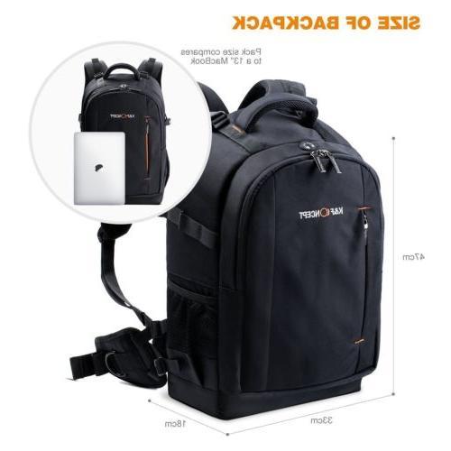 K&F Concept DSLR Backpack Bag