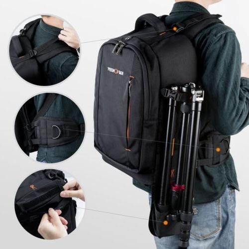 K&F Concept DSLR Camera Backpack Large