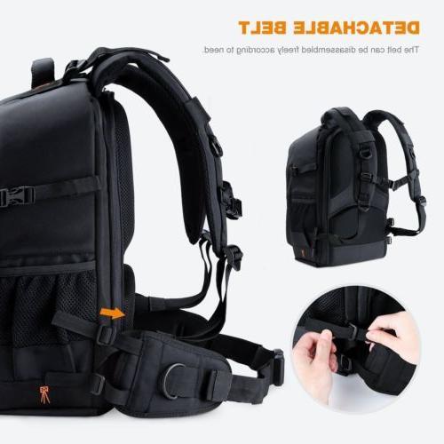 K&F Backpack Bag Waterproof Large Rain