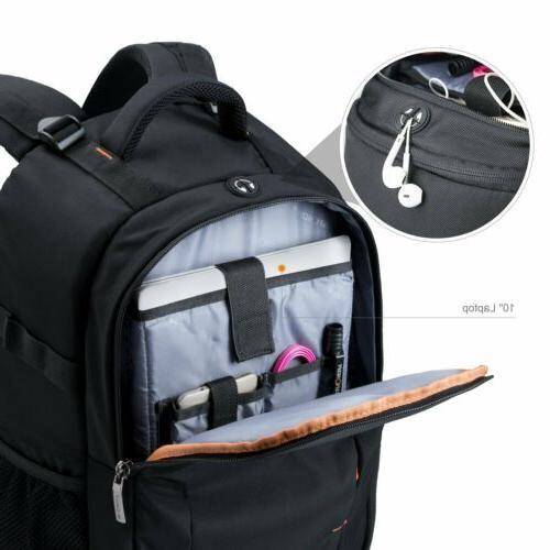 K&F Concept DSLR Backpack Case Large Capacity