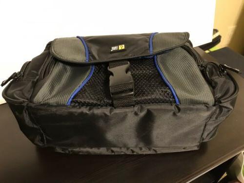 Case DSLR Camcorder / Camera - Padded Blue Interior