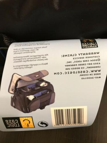 Case DSLR Camcorder / Camera - Padded Blue -NEW
