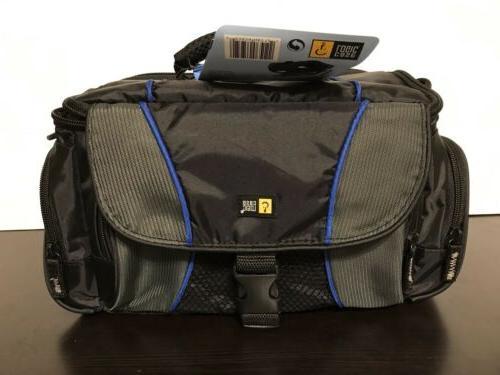 dslr camcorder camera bag padded black w