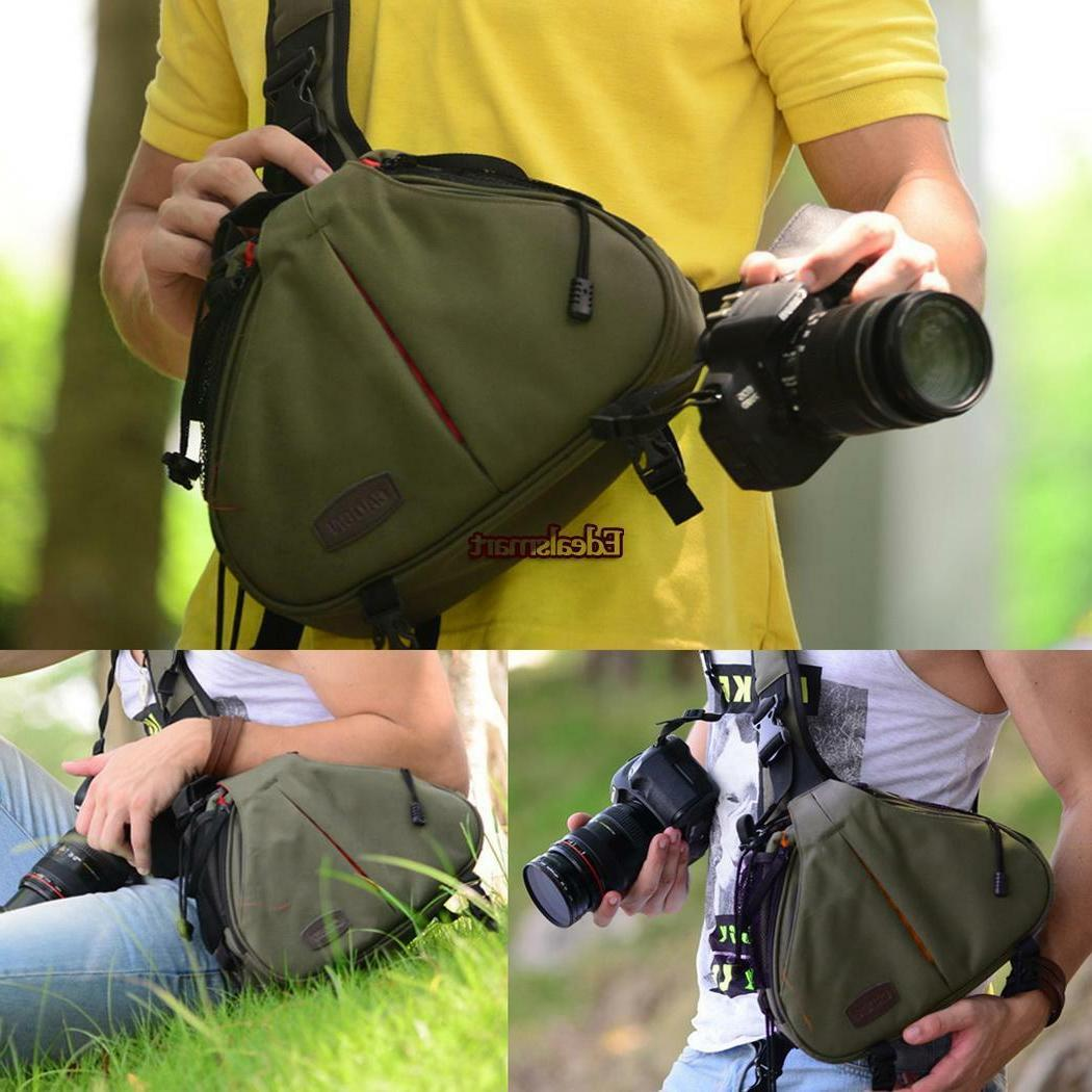 DSLR Camera Backpack Bag Compact Waterproof Nikon Canon