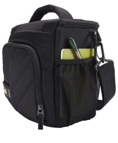 dslr camera bag black
