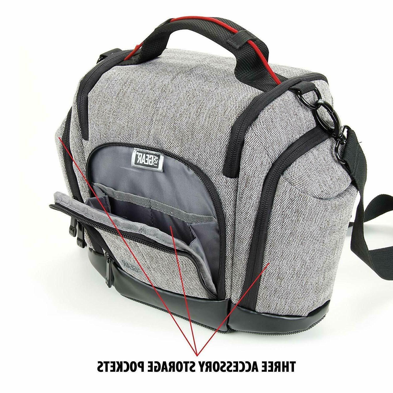 Bag Gray Weather Cushioned