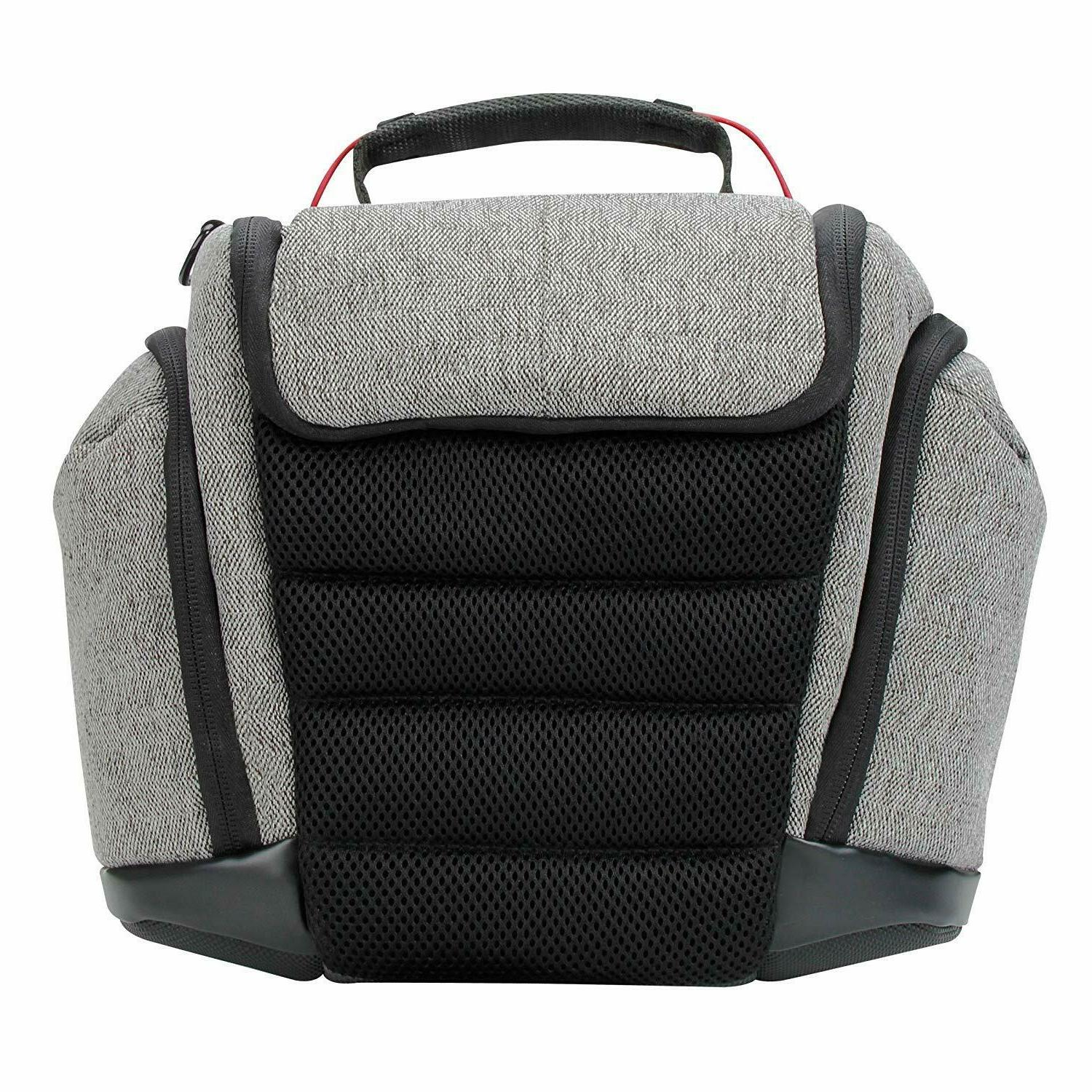 USA GEAR DSLR Bag Gray Weather Bottom Cushioned