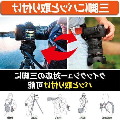 DSLR Camera Release Waist Belt Strap Holder