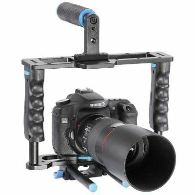 DSLR Shoulder Matte Box Follow for Cameras Video DV