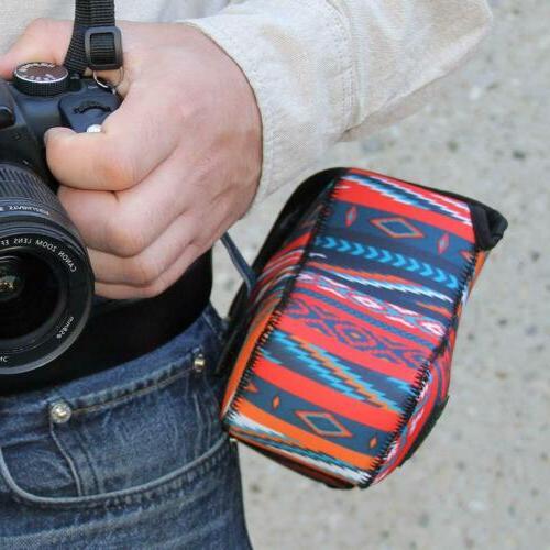 DSLR Camera Sleeve with Zippered Storage