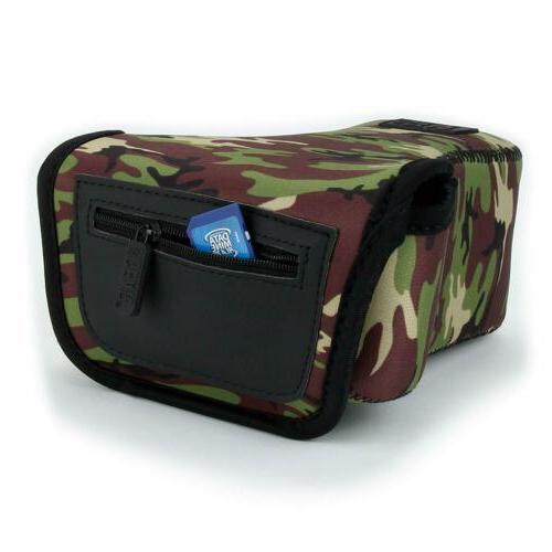 USA GEAR DSLR Case/SLR Camera with Neoprene Protection