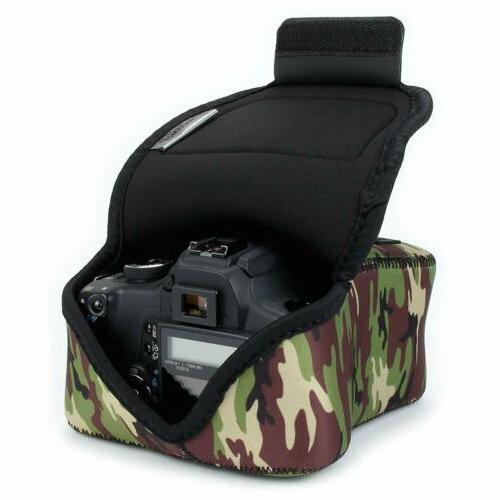 USA GEAR DSLR Camera Neoprene Protection