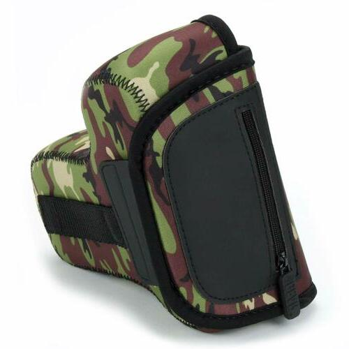 USA GEAR Case/SLR Camera with Neoprene Protection