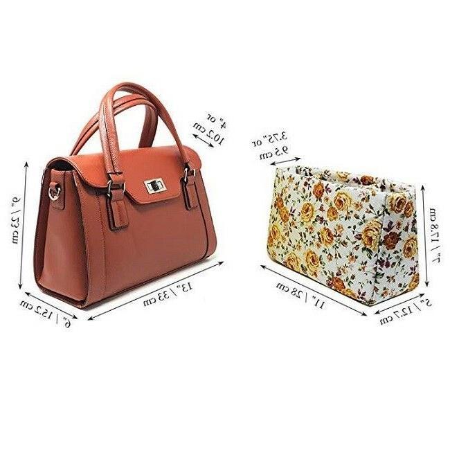 DSLR Handbag Womens Leather Purse Bag Case