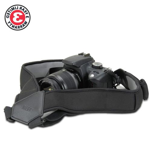 USA GEAR Strap Harness Black Neoprene Pockets