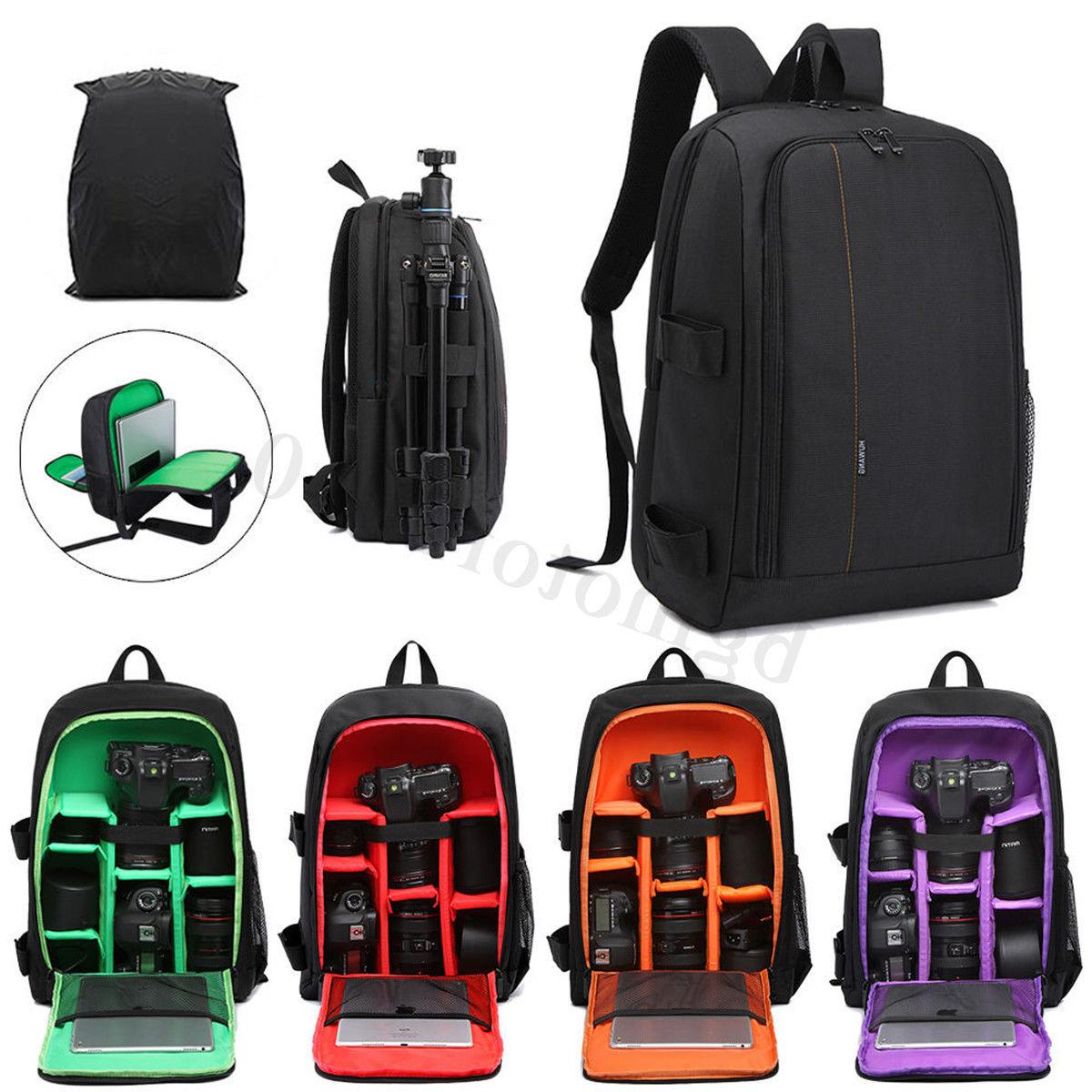 dslr camera waterproof backpack shoulder bag case