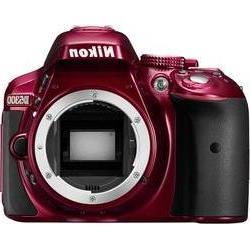 DSLR camera Nikon D5300Body 24.2 MPix Red Full HD Video, Wi-