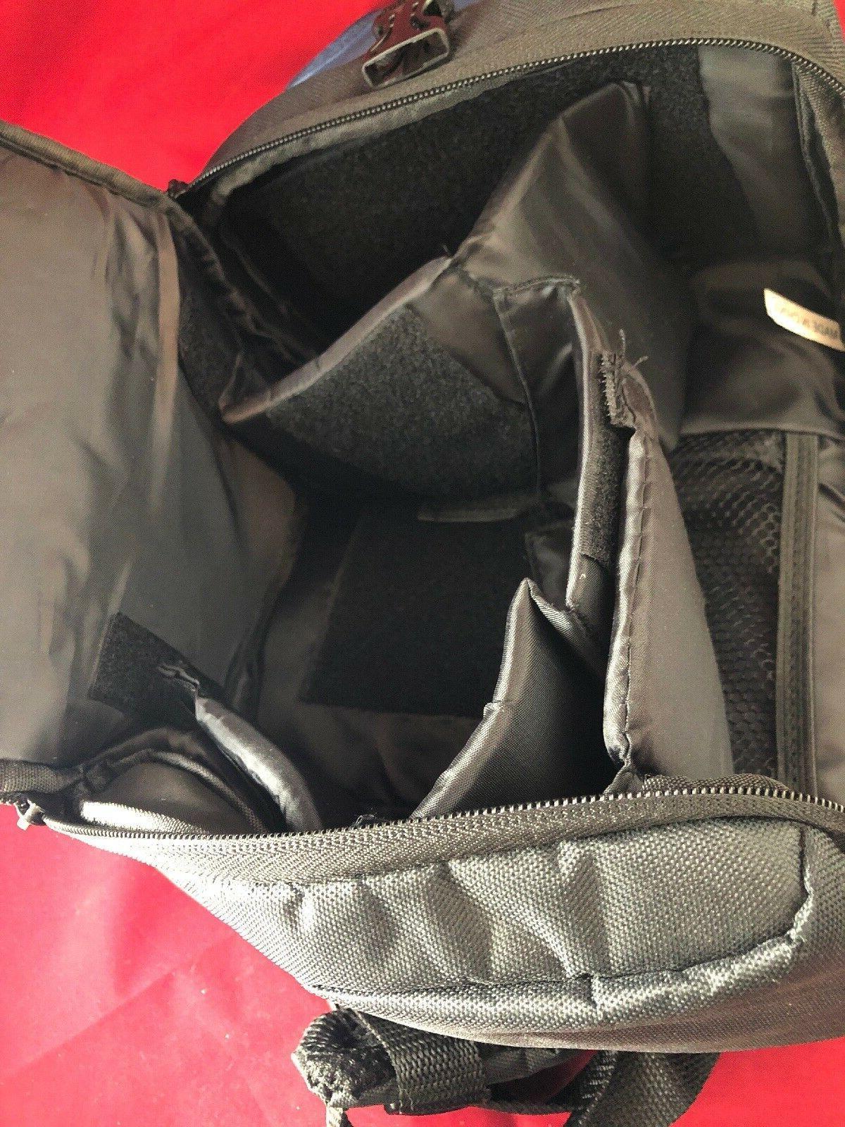 Zeikos DSLR Camera Bag Pack Case ShoulderStrap Navy NEW