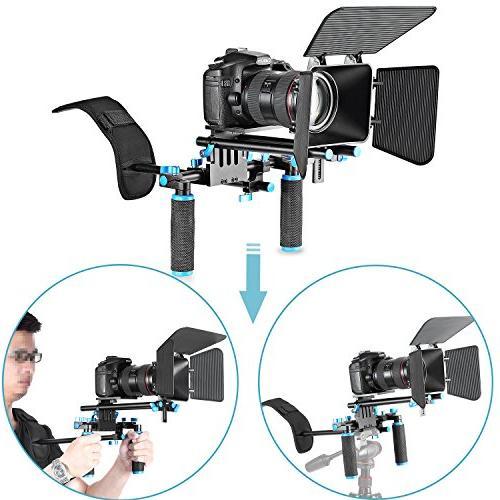Neewer DSLR Movie Video Making Rig Set System Kit for Camcor