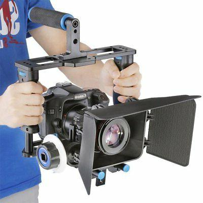 dslr rig kit cage support