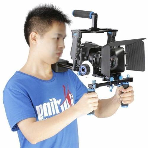 dslr rig kit shoulder mount