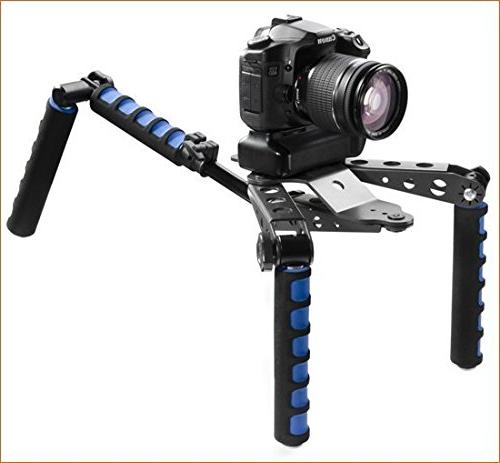 DSLR Rig Movie Film Making System Mount for Canon Fujifilm Olympus Digital Cameras and Camcorders
