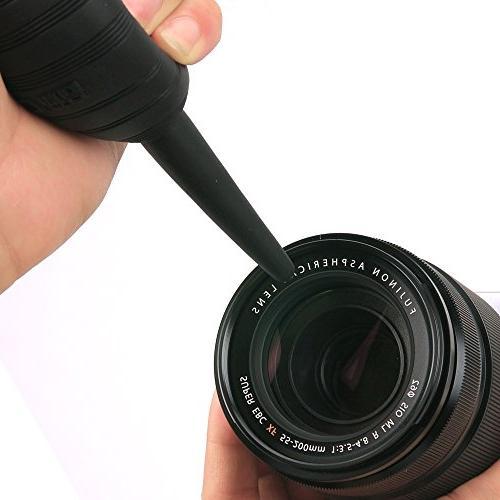 UES DSLR Camera Cleaning 6 x APS-C Sensor Air Cleaner, Camera Sensor 30ml 4 X Finger Stalls