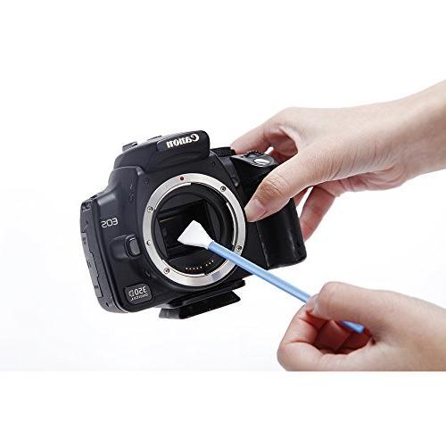 UES DSLR Cleaning 6 APS-C Sensor Swabs, Air Blower Camera Sensor 4 X Clean Finger Stalls