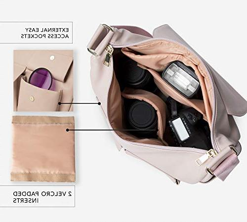 DSLR for Blush Pink Crossbody Cameras - Photography Accessories, Gear